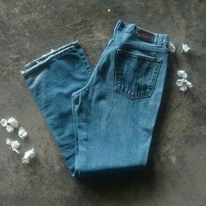 Calvin Klein Low Rise Bootcut Medium Wash Jeans 12